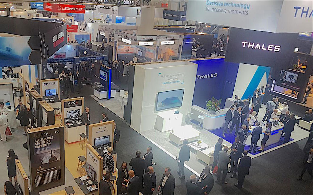 Glyde Metal exhibiting at the Defence Industry Conference of 2021