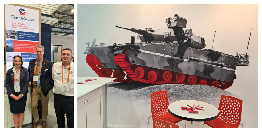 Defence and Industry Conference Hanwha Defence team